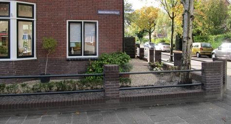 Aanleg stadstuin Leiden Verbeek hoveniers
